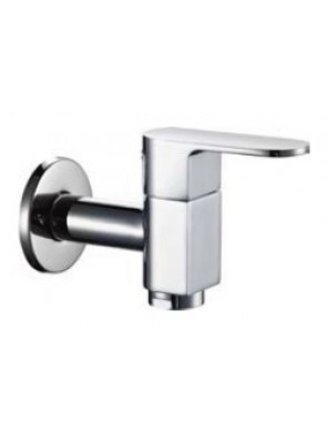 AIMER Brass Chrome Wall Bib Tap AMFC-5006