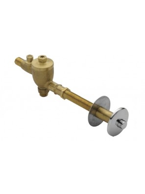 AIMER Brass Chromed Concealed Urinal Flush Valve  AMFV-600
