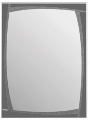 AIMER  Decorative Mirror; Size: 445 X 595 X 4mm AMDM-1015