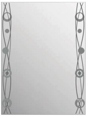 AIMER Decorative Mirror; Size: 445 X 595 X 4mm AMDM-1016