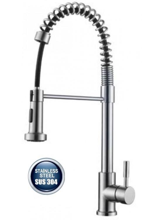 AIMER Flexible Hose Kitchen Pillar Sink Mixer AMPMX-81230