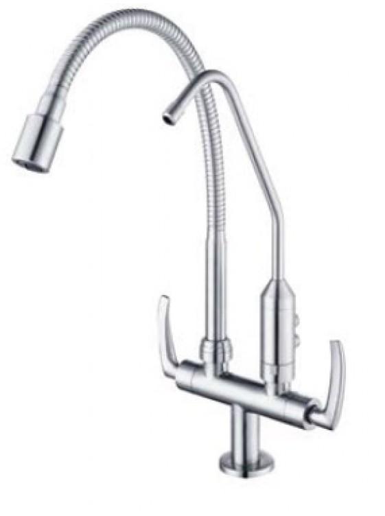 AIMER  Flexible hose Pillar Sink Tap c/w Filter AMFC-1960F