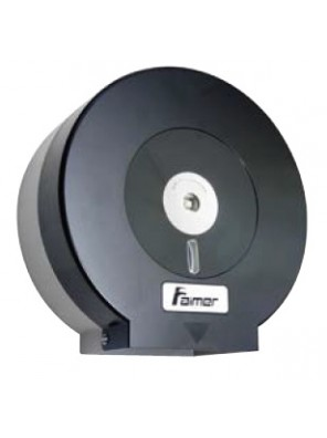 AIMER Paper Dispenser ABS Black  AMBA-273/B