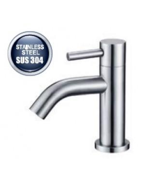 AIMER S/S SUS 304 Basin Pillar Cold Tap AMPFC-80520