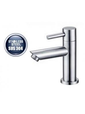 AIMER S/S SUS 304 Basin Pillar Cold Tap AMPFC-80522