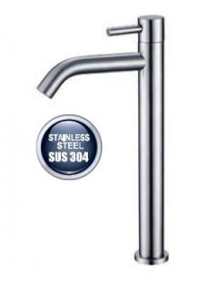 AIMER S/S SUS 304 Basin Pillar Cold Tap (Tall) AMPFC-80521
