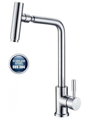 AIMER S/S SUS 304 Kitchen Pillar Sink Mixer AMPMX-81104