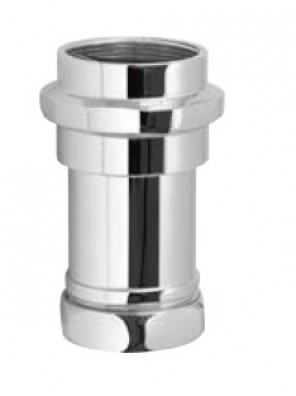AIMER Wc Vacuum Breaker; Brass Chromed AMFV-403