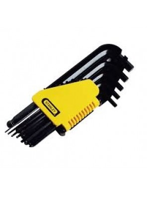 "STANLEY  69-257 T 3/8"" Ball Point Hex Allen Key Set"