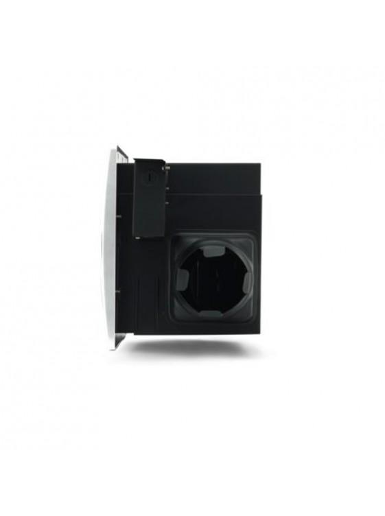 "AIREGARD 4"" Silent Ventilator AS-6090-D1 (Round) Black"