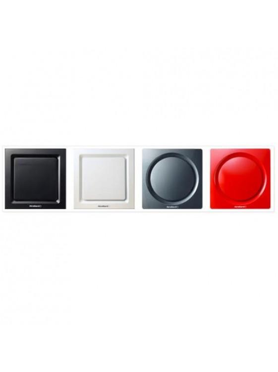 "AIREGARD 4"" Silent Ventilator AS-6090-D2 (Square) Black"