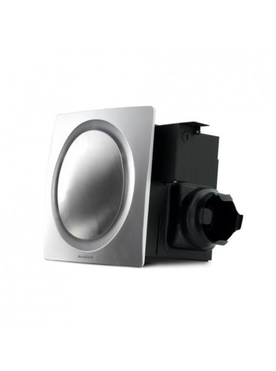 "AIREGARD 4"" Silent Ventilator AS-9020-D1 (Round) Black"