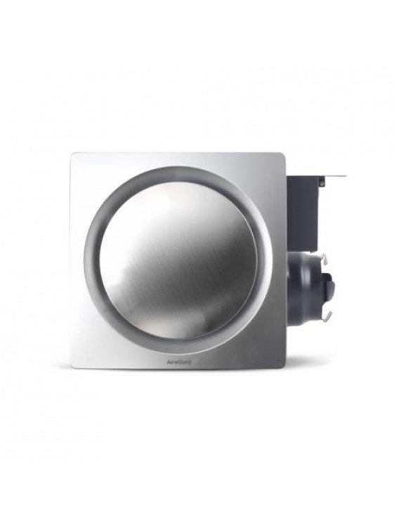 "AIREGARD 4"" Silent Ventilator AS-6090-D1 (Round) Red"
