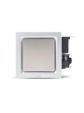 "AIREGARD 4"" Silent Ventilator AS-6090-D2 (Square) Black"