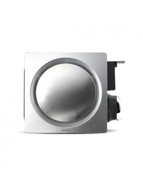 "AIREGARD 4"" Silent Ventilator AS-9020-D1 (Round) Platinum"