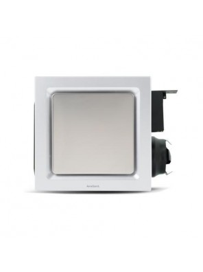 "AIREGARD 4"" Silent Ventilator AS-9020-D2 (Square) Platinum"