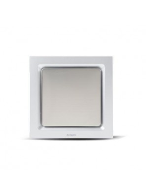 """AIREGARD 4"""" Silent Ventilator Panel Only AS-9020-D2 (Square)"""