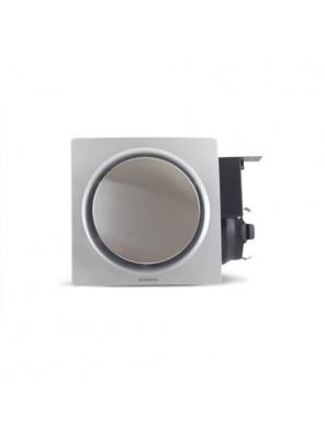 """AIREGARD 4"""" Super Quiet Ventilator SQ-110-D1 (Round) Black"""