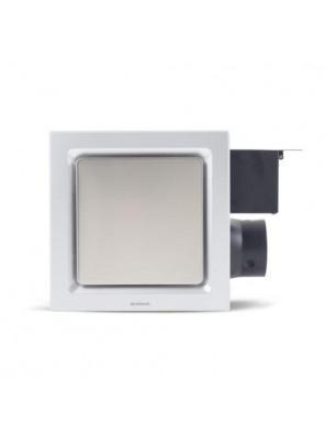 """AIREGARD 4"""" Super Quiet Ventilator SQ-110-D2(Square)Platium"""