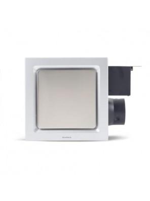 """AIREGARD 4"""" Super Quiet Ventilator SQ-110-D2 (Square) White"""