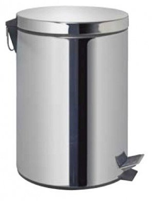 AIMER Stainless Satin Nickel Dustbin Round AMDB-6412