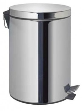 AIMER Stainless Satin Nickel Dustbin Round AMDB-6420