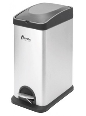 AIMER Stainless Satin Nickel Dustbin Square  AMDB-6415