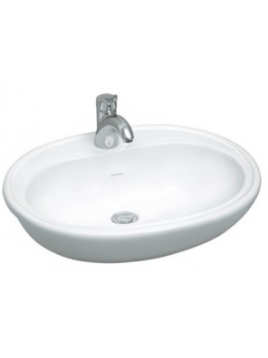 JOHNSON SUISSE Windsor Semi Recessed Basin WBSAWR400