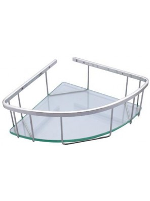 "ROCCONI 8"" Medium Corner Glass Basket RCN 7001M"