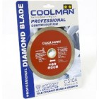 "COOLMAN 4""Small Dia.Diamond Blade C310A"