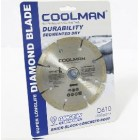 "COOLMAN 4""Small Dia.Diamond Blade D500"