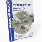 "COOLMAN 4""Small Dia.Diamond Blade D610"
