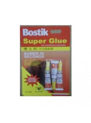 BOSTIK 3ml Super Glue Triple Pack Code:03028