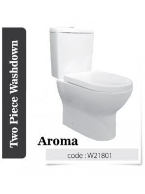 BARENO Aroma 3/6L  C/coupled Washdown WC BO-250mm W21801