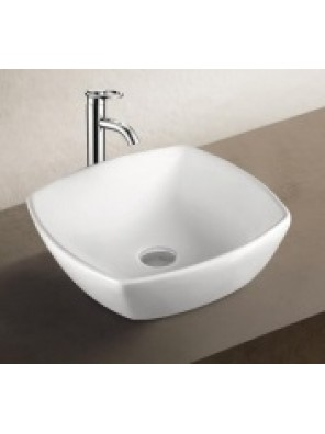 BARENO Ceramic Counter Top Basin (White) K68