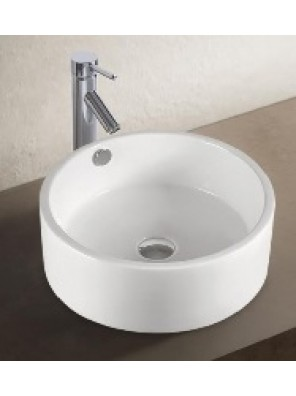 BARENO Ceramic Counter Top Basin (White) K69