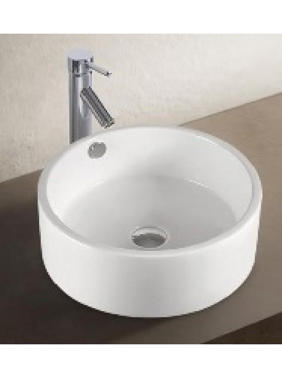 BARENO Ceramic Counter Top Basin (White) K69