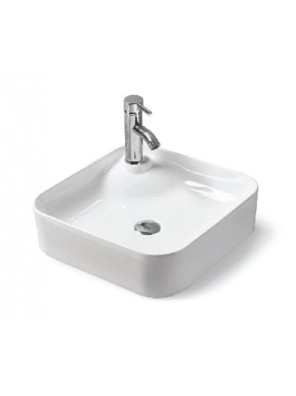 BARENO Counter Top Basin Size:430x430x120mm (White) W3201