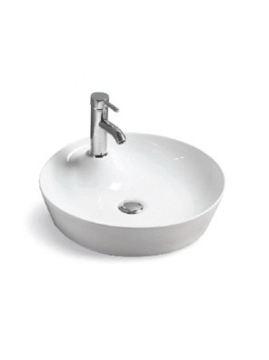 BARENO Counter Top Basin Size:450x450x140mm (White) W3204
