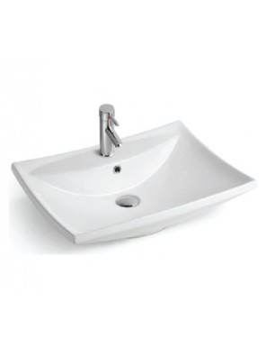 BARENO Counter Top Basin Size:600x445x165mm (White) W3202