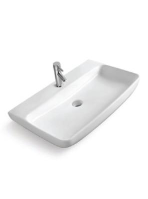 BARENO Counter Top Basin Size:600x475x135mm (White) W3203