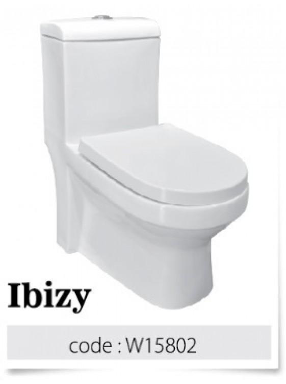 BARENO IBIZY 3/6L One Piece Washdown WC BO 250mm W15802