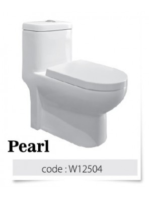 BARENO Pearl 3/6 One Piece Washdown WC BO 250mm  W12504
