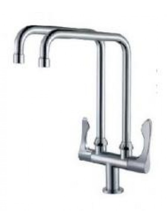 BARENO PLUS 2 Way Pillar Sink Tap-TW-PST1013-13