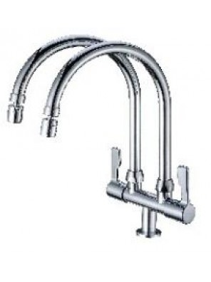 BARENO PLUS 2 Way Pillar Sink Tap-TW-PST1013-14