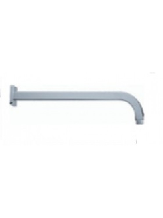 BARENO  PLUS 400mm Brass Wall Mounted Shower Arm L400-SQ2