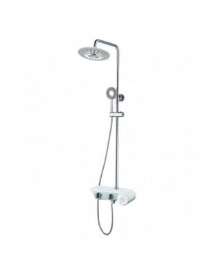 BARENO Plus Ex. 3 Funct. Shower Post Set & Music Box-FB8018M