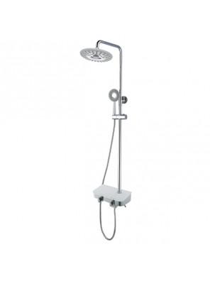 BARENO Plus Exposed 3 Funct. Shower Post Set -FB8011