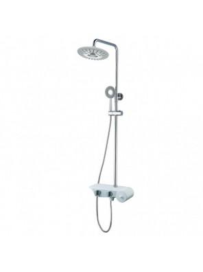 BARENO Plus Exposed 3 Funct. Shower Post Set- FB8018