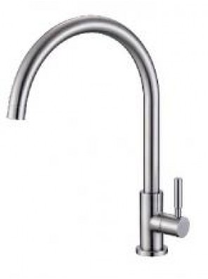 BARENO PLUS S/S Pillar Sink Tap -SS-PST-303